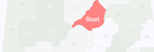 Blount County Map