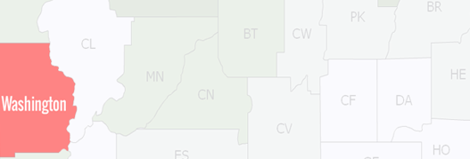 Washington County Map